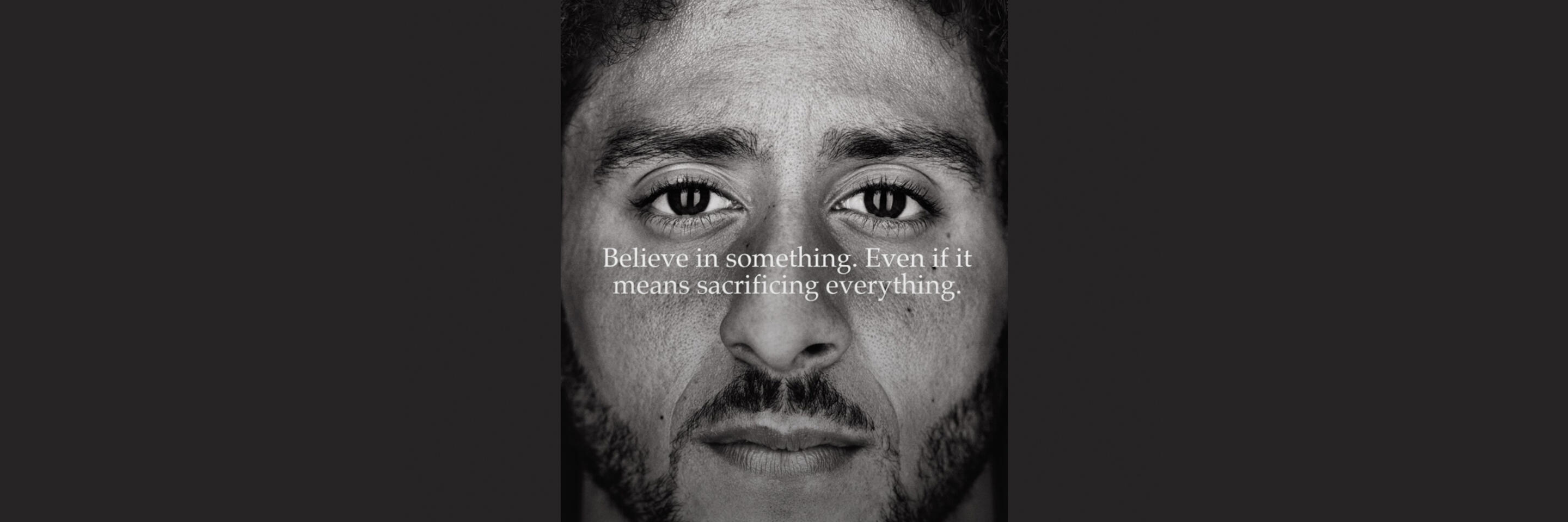 In Kaepernick Ads Nike Further Develops Its Brand Point Of View Mit Sloan