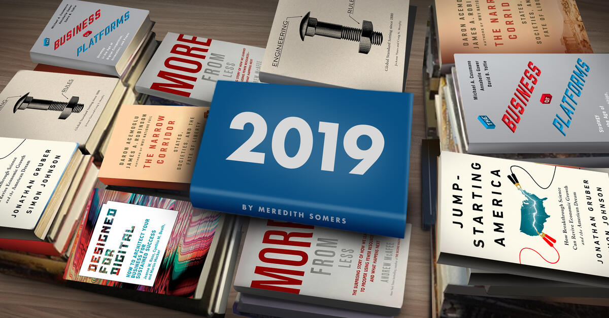 MIT Sloan faculty insights: 6 books from 2019 | MIT Sloan