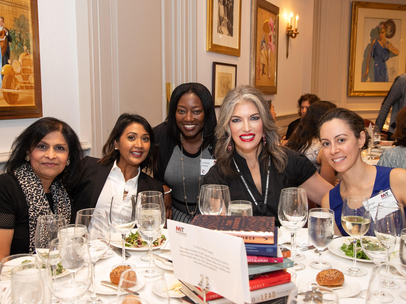 MIT Sloan Global Women's Pre-Conference Dinner Photos 2019